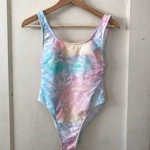 ‼️SALE‼️ Xhilaration Pastel Sky One Piece Swimsuit
